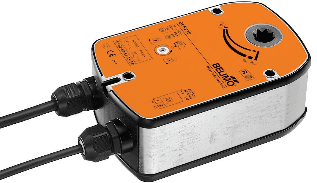 Электропривод для регулирующих клапанов, аналоговые, 230В, скорость 1,00 мм/c