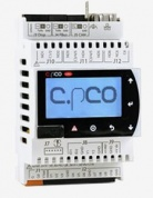 Контроллер CAREL C.PCO MINI DIN HIGH-END, LCD DISPLAY