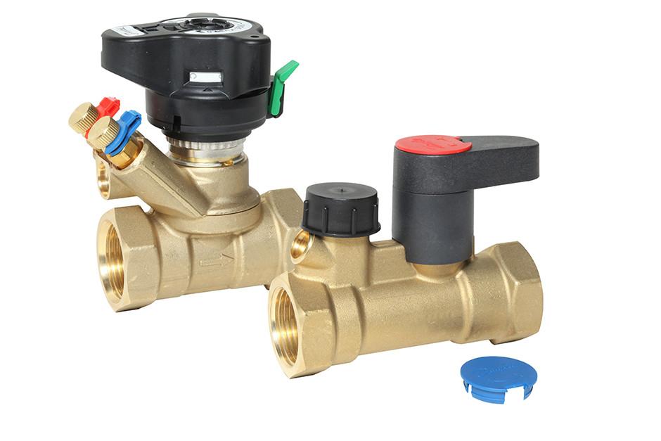 комплект балансировочного клапана msv-bd и запорного клапана msv-s